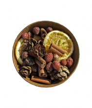 Rosehip Potpourri ~ Scented rosehip potpourri is ideal to place around a pillar candle or display in your favorite bowl. Scented with four of our most popular fragrances; Butternut Pumpkin, Oranges & Evergreens, Sleigh Ride, Warm 'n Cozy. The fragrance will last for months and can be easily rejuvenated with our refresher oils. http://myfragranthome.com/rosehip-potpourri/ $8.00