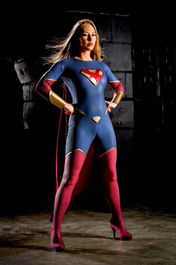supergirl woman Busty
