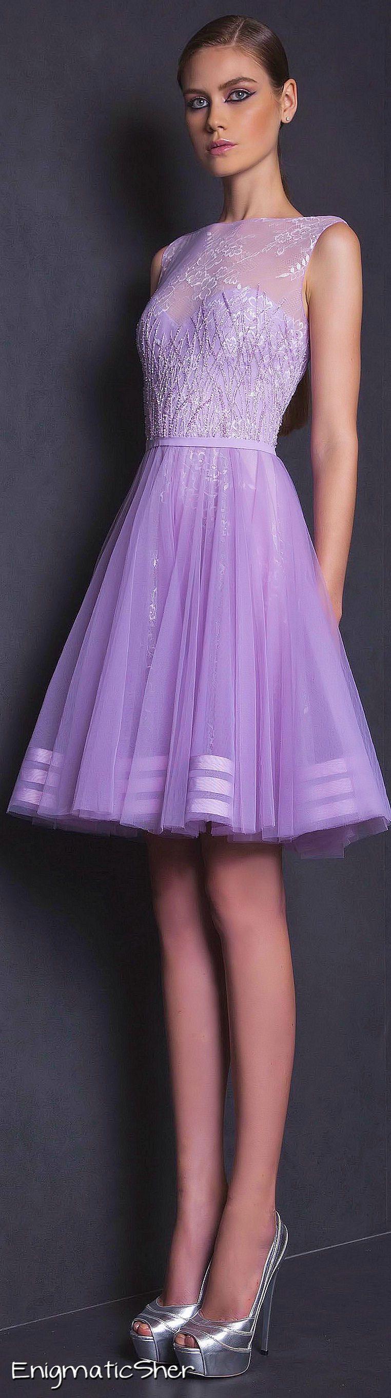 VIOLETA Y PLATEADO....❤ | Vestidos | Pinterest | Vestidos damas de ...