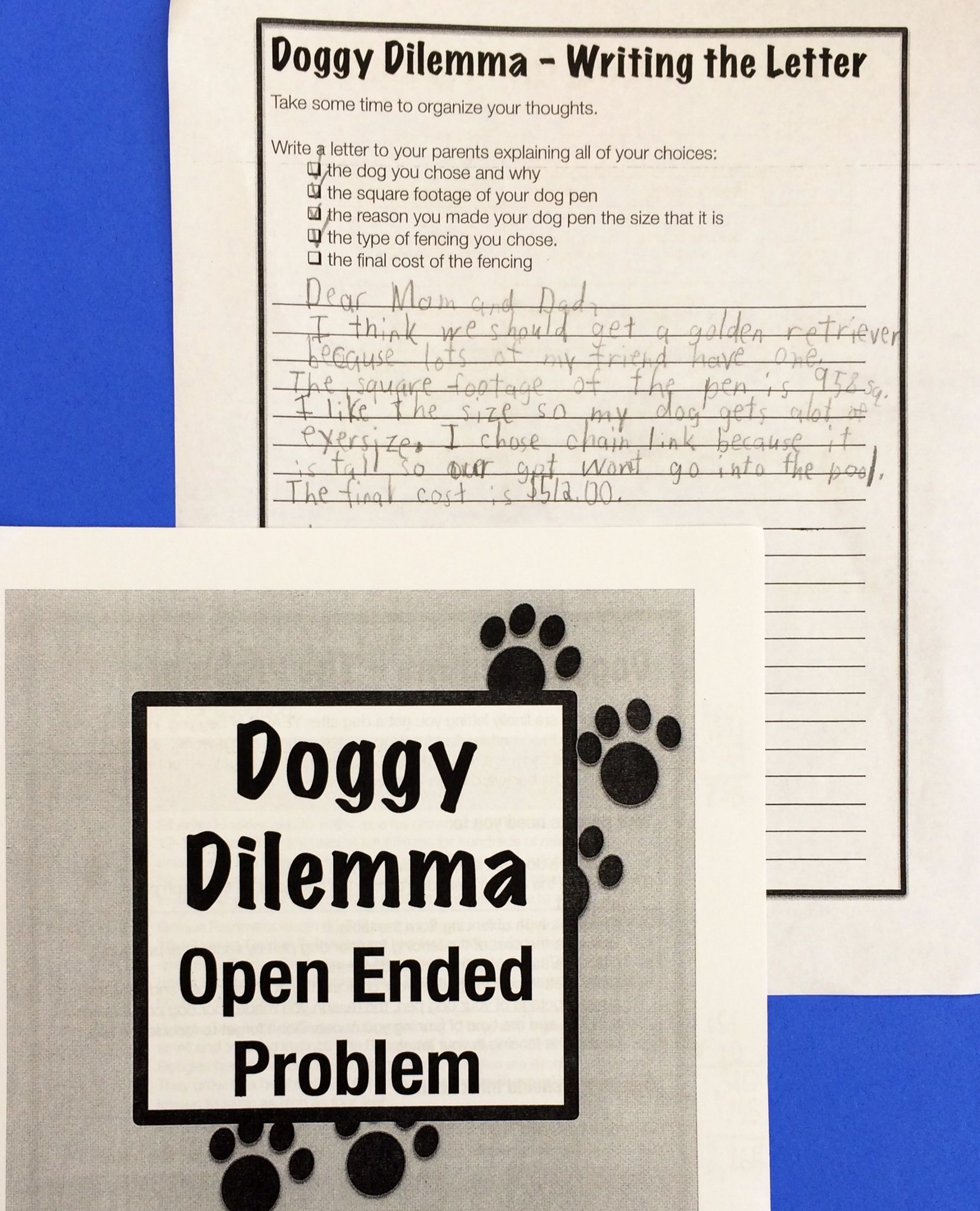 Open Ended Math Problems Promote Reading Writing And Math