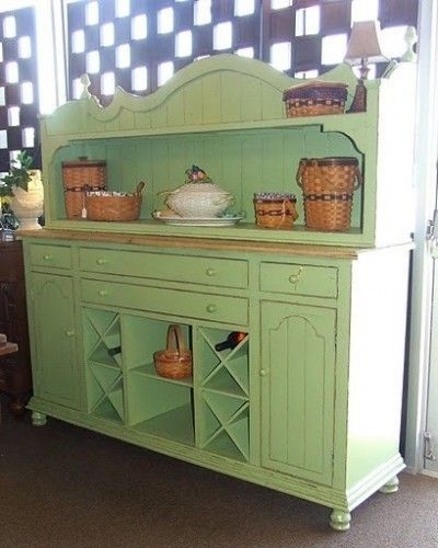 French Country Green Sideboard   Furniture colors   Kitchen ...
