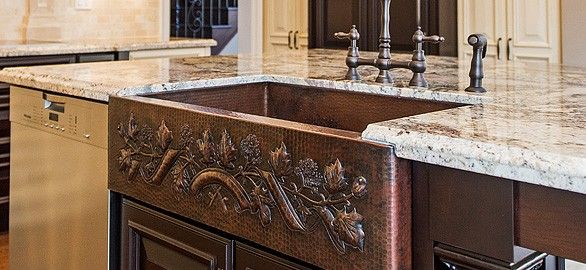Finding the Right Copper Kitchen Sink Faucet - Copper Sinks Online ...