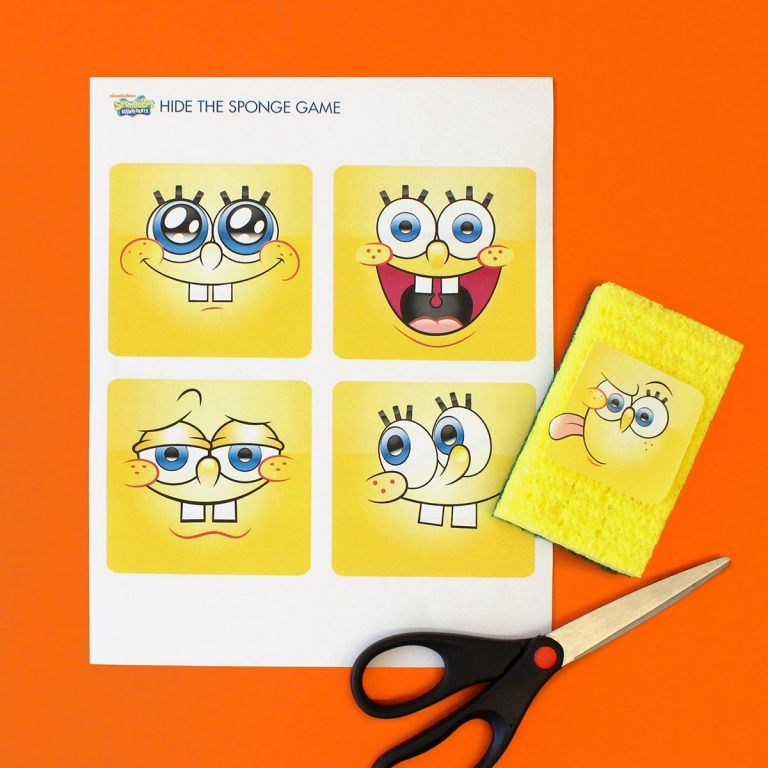 Our Best SpongeBob Printables and Activities (2020)