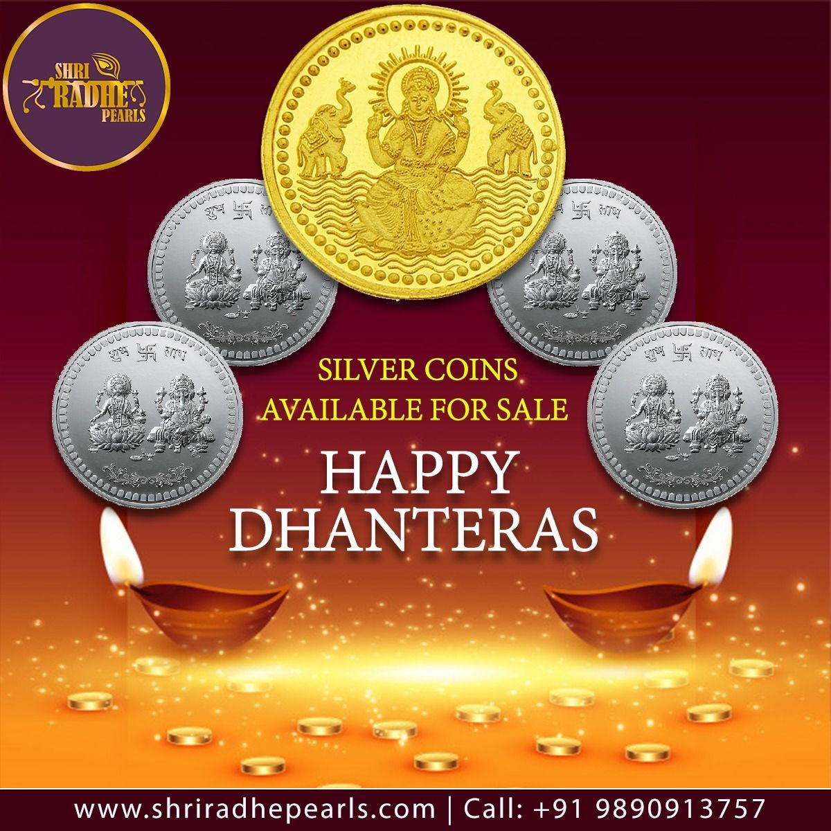 This Dhanteras, make sure you invest in jewelry to have a sound and stable future.  We at Shri Radhe Pearls wish you all a very Happy Dhanteras  #ShriRadhePearlsJeweleryStore #ImitationJewelry #TrendyJewelry #PearlJewelry #GramJewelry #JewelryShopping #HappyDhanteras #silvercoins #happydhanteras This Dhanteras, make sure you invest in jewelry to have a sound and stable future.  We at Shri Radhe Pearls wish you all a very Happy Dhanteras  #ShriRadhePearlsJeweleryStore #ImitationJewelry #TrendyJew #happydhanteras
