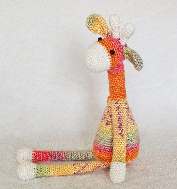 Crochet Giraffe Amigurumi Pattern PATTERN ONLY PDF Download ...
