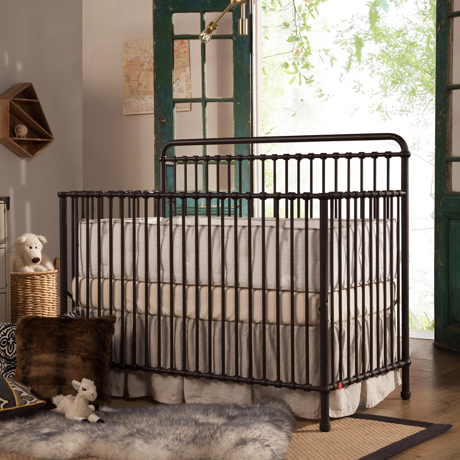 Crib for sale in palm bay - Franklin Ben Winston 4 In 1 Convertible Iron Crib From Hayneedle