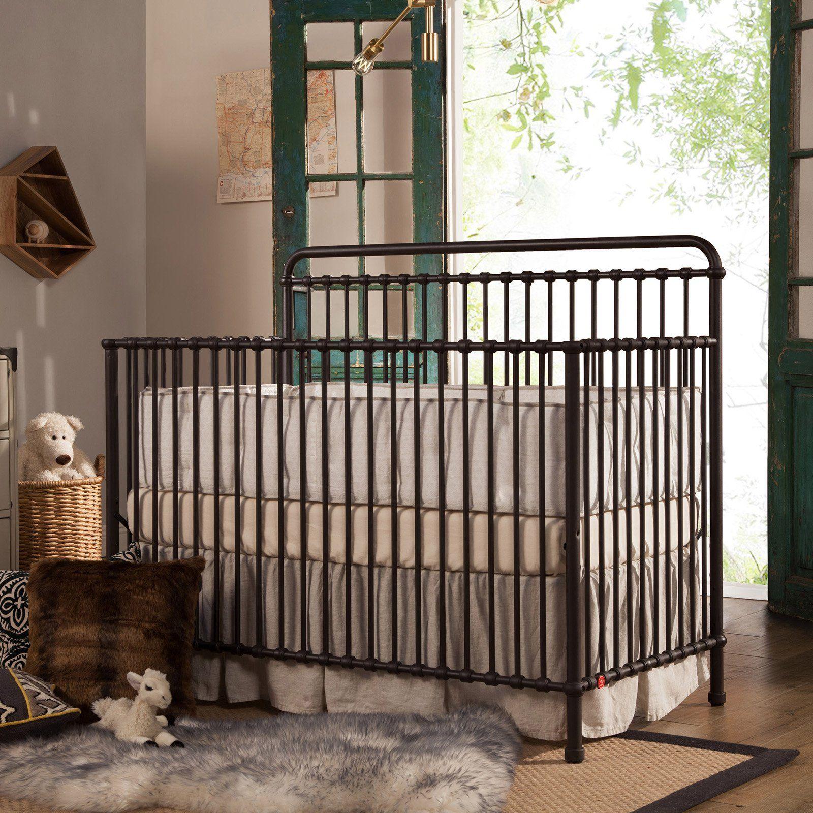 Million Dollar Baby Classic Winston 4-in-1 Convertible Iron Crib ...