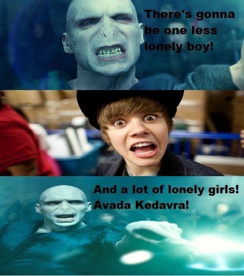 Harry Potter Vs Twilight Photo Voldie Bieber Harry Potter Funny Harry Potter Vs Twilight Harry Potter