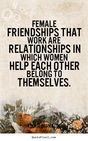 women friendship quotes