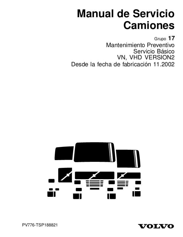 Manual de Servicio Camiones 17 Mantenimiento Preventivo
