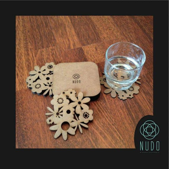 Wooden Cup Coasters Coaster Wooden Coasters Drink Coasters Snowflake  Coasters Winter Decor Drink Stirrers Swizzle Stick Cocktail Wedding | Laser  Cutting, ... Photo Gallery