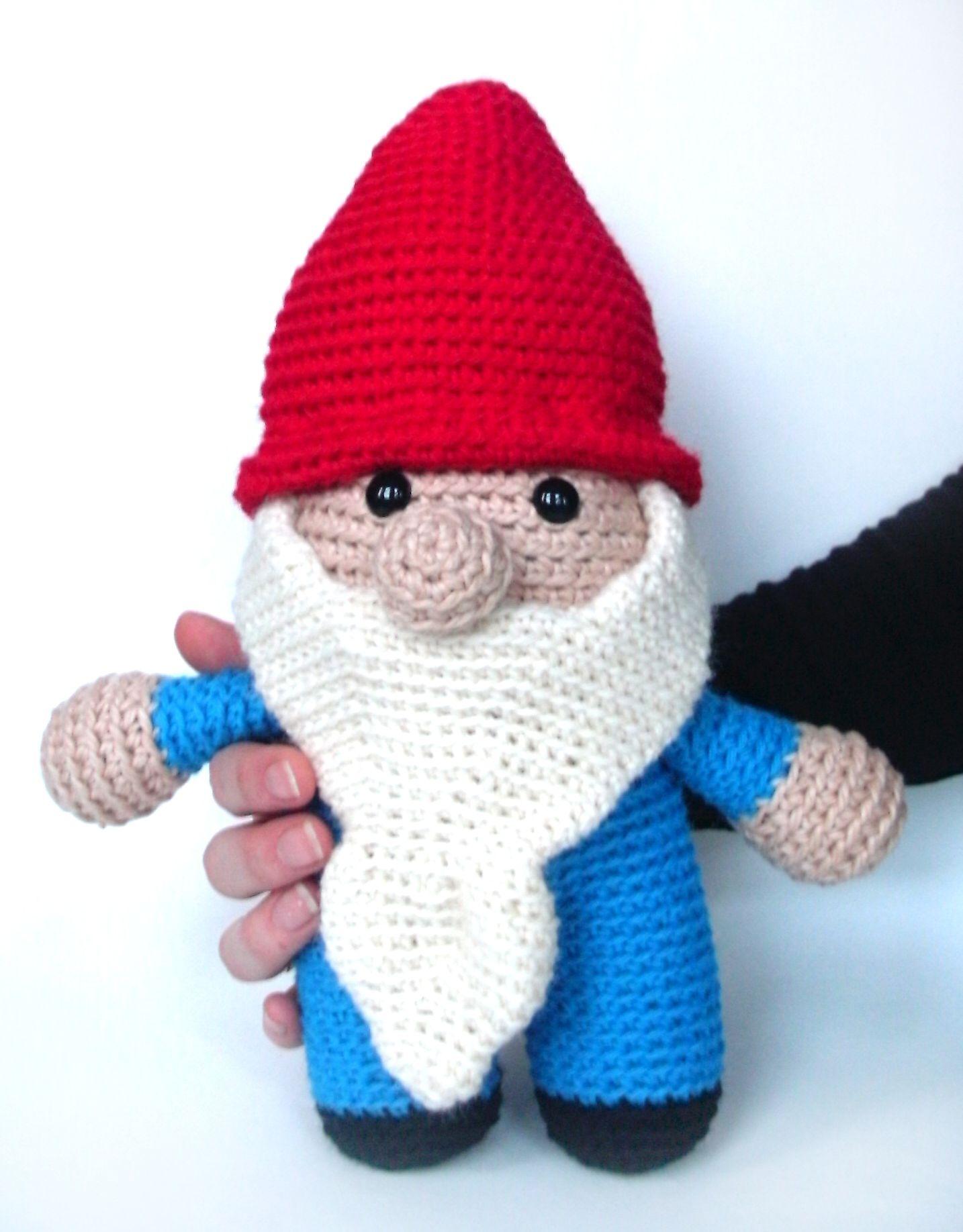 Amigurumi Hello Kitty Free Pattern : crochet gnome stuffed animal pattern Gnome is where the ...
