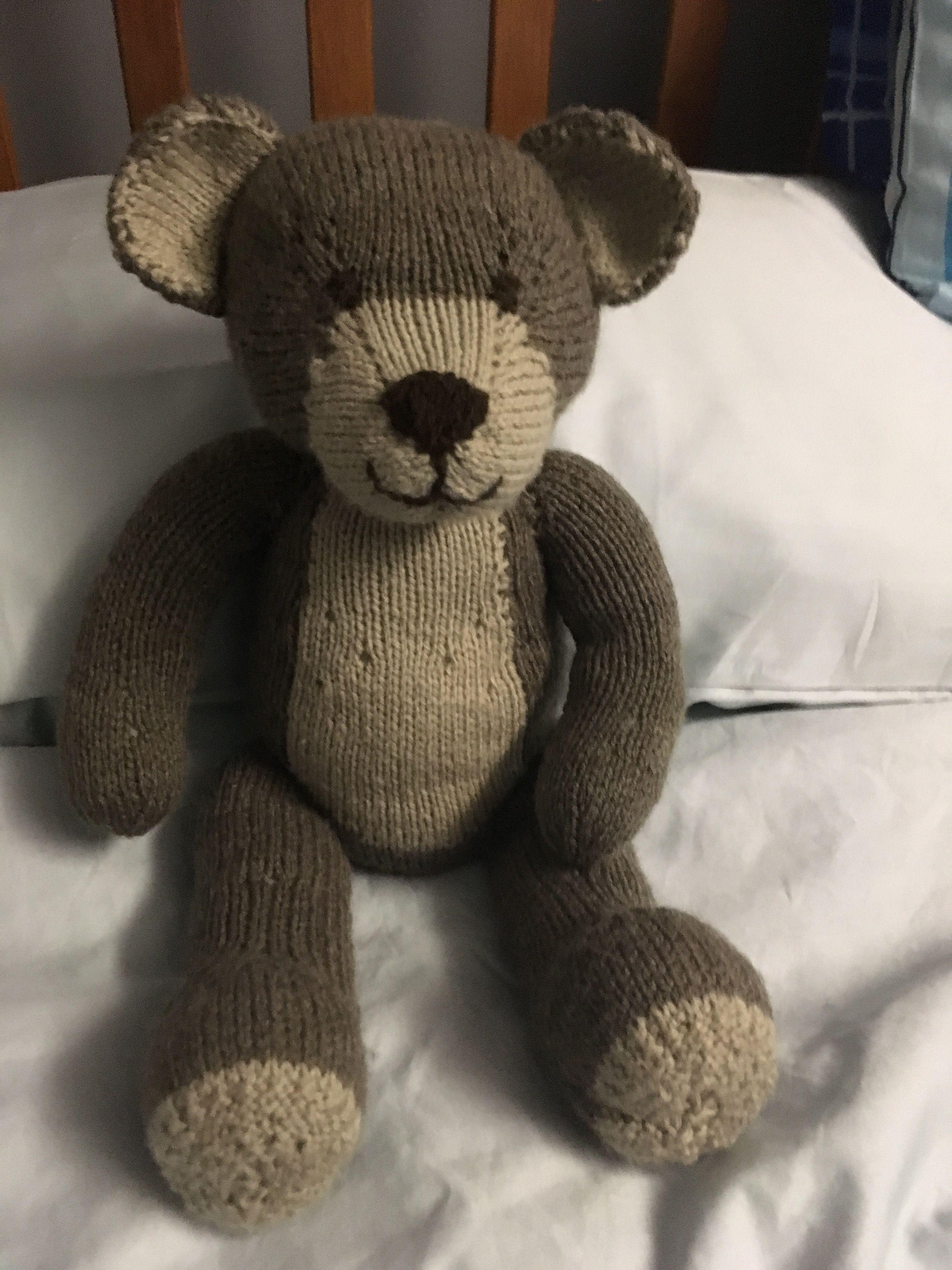 Knittables teddy knitting pinterest bear knit a teddy knitting pattern by knitables bankloansurffo Choice Image