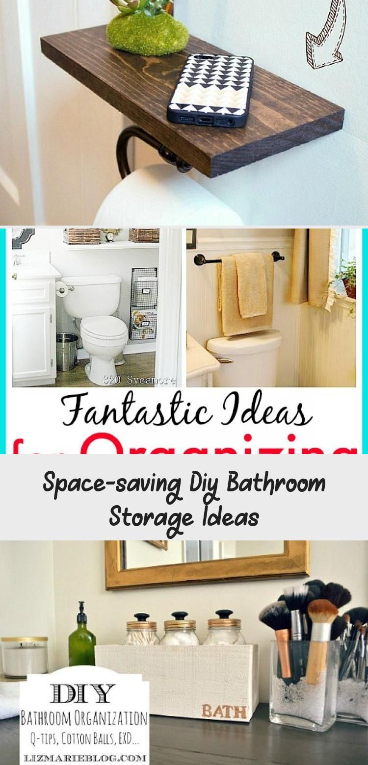 Space Saving Diy Bathroom Storage Ideas Diy Bathroom Storage Small Bathroom Storage Solutions Diy Bathroom