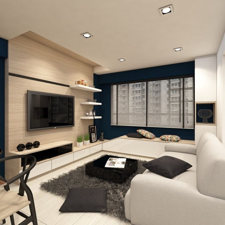 Top 50 Best Modern Living Room Ideas: Ax Image 02 TV Console