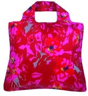 ENVIROSAX Cherry Lane Reusable Eco Roll Up Folding Large Shopping Bag Gift