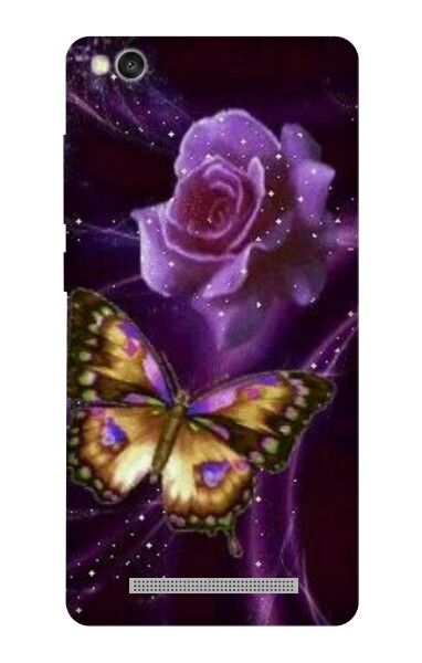 Pin Oleh Zahrotun Nisa Di Case Ungu Wallpaper Kupu Kupu Lukisan Bunga