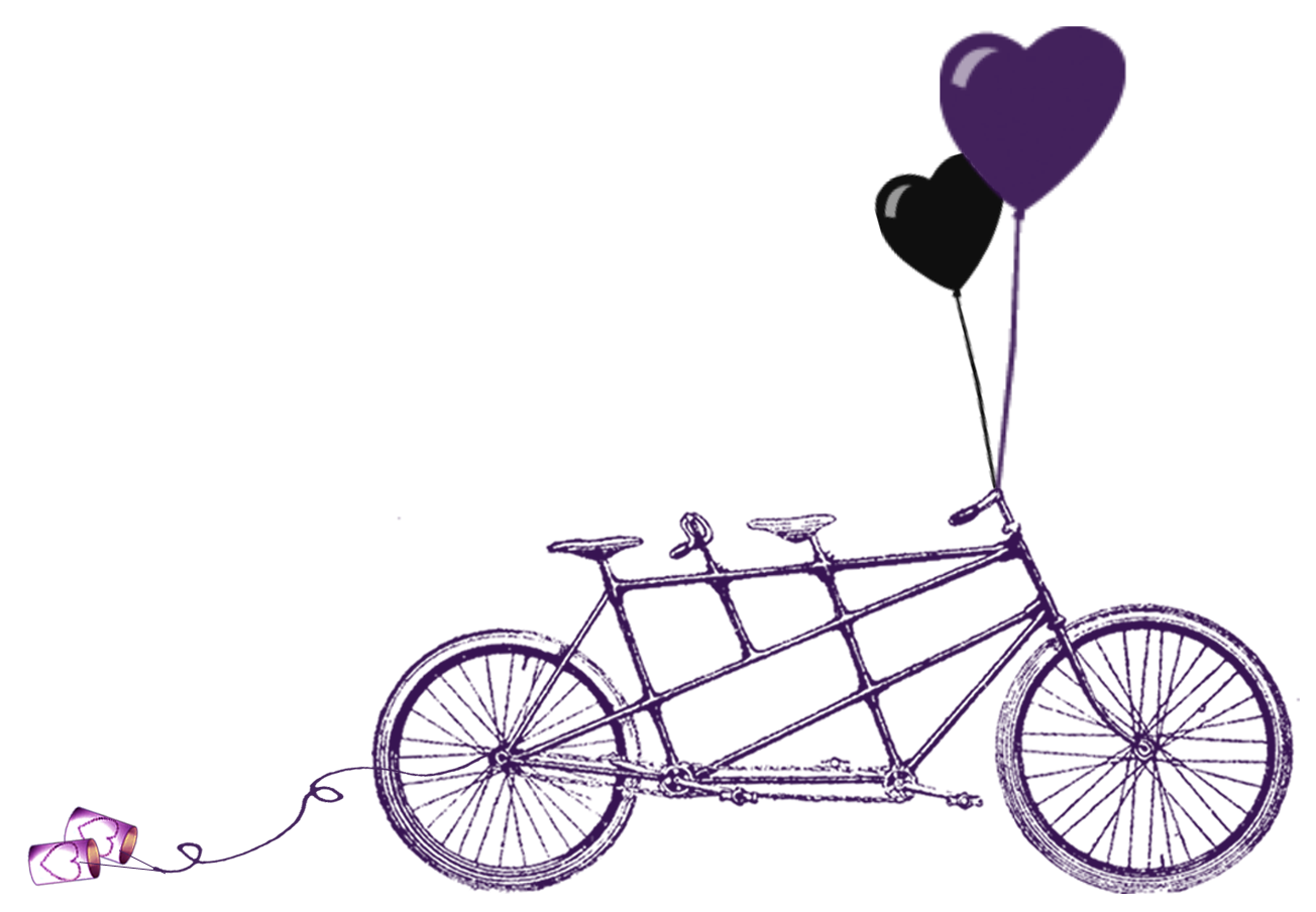 printable old bicycle silhouettes tandem bike free wedding rh pinterest nz tandem bike clipart free tandem bike clipart free