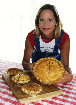 Beth Howard believes pie can change the world... She's packed up the RV her husband left behind and hit the American highways in search of the real healing powers of pie!