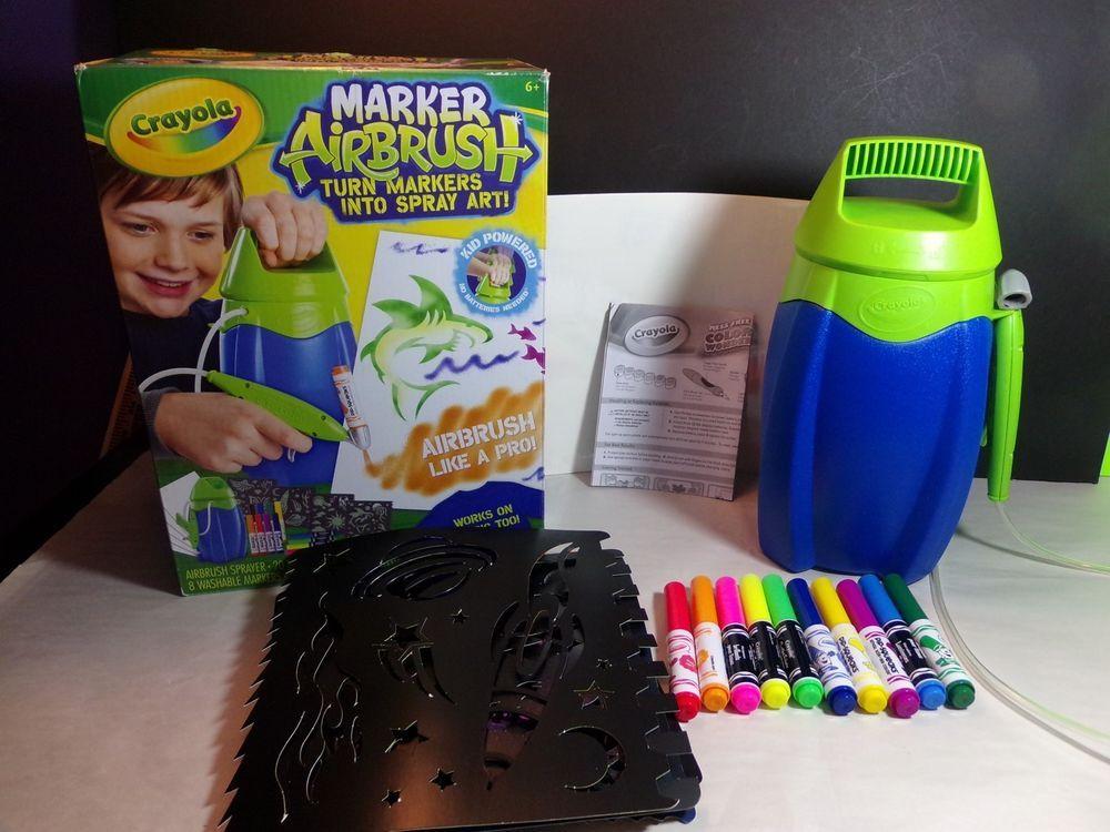 Crayola Marker Airbrush Spray Art eBay Crayola markers