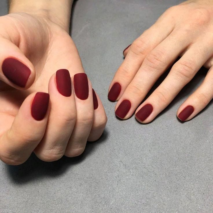 Photo of Matte rote Nägel #mattenails   – matte nails – #Matte #mattenails #Nägel #Nail…