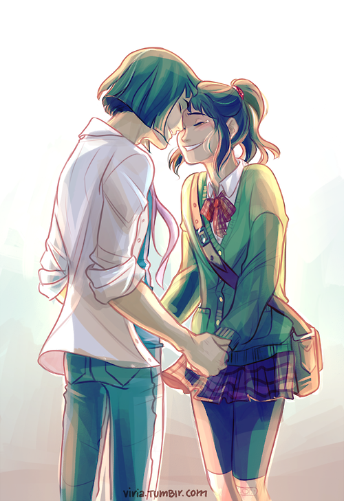 Haku and Chihiro to meet eventually after all those years OMF