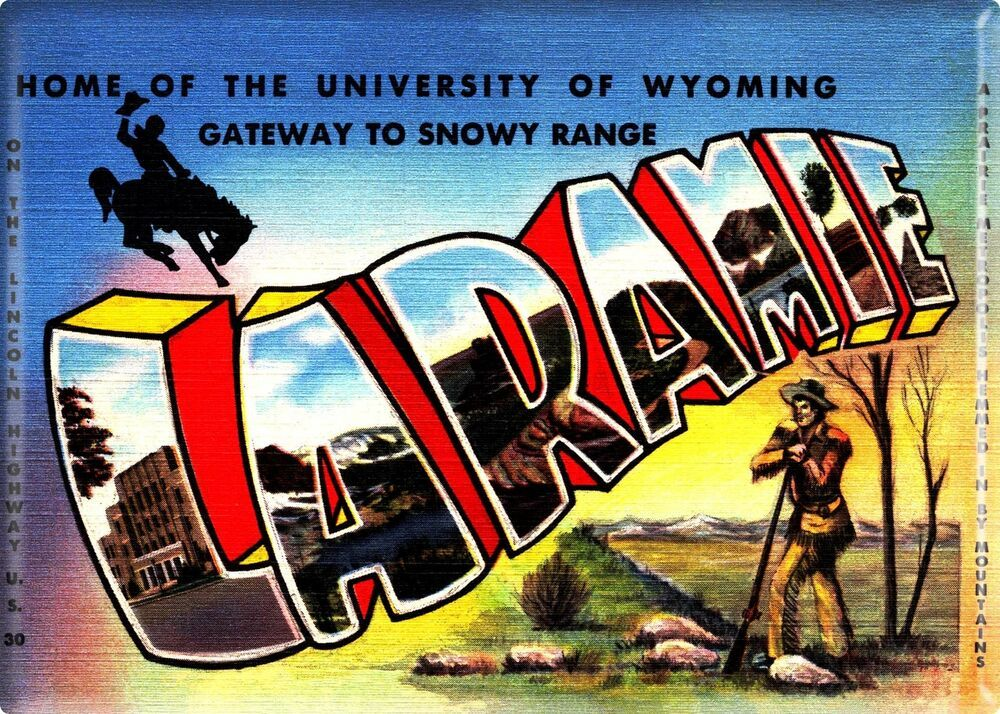 Greetings from Cody Wyoming Fridge Magnet