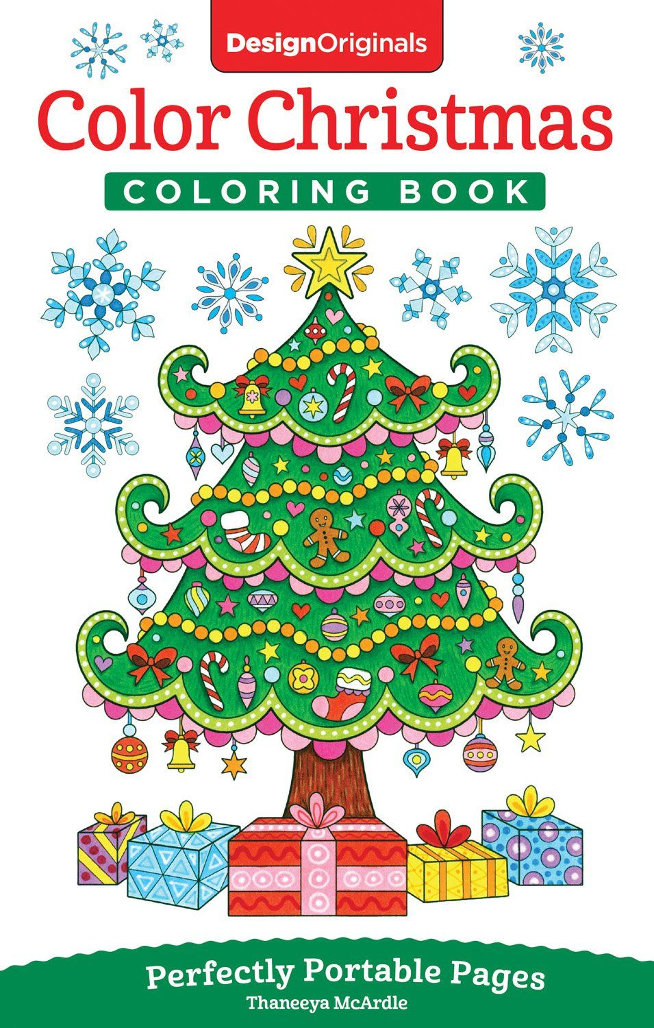 Amazon.com: Color Christmas Coloring Book: Perfectly Portable Pages ...
