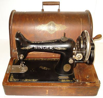 Antique Singer Sewing Machines Antique 1917 Singer Hand