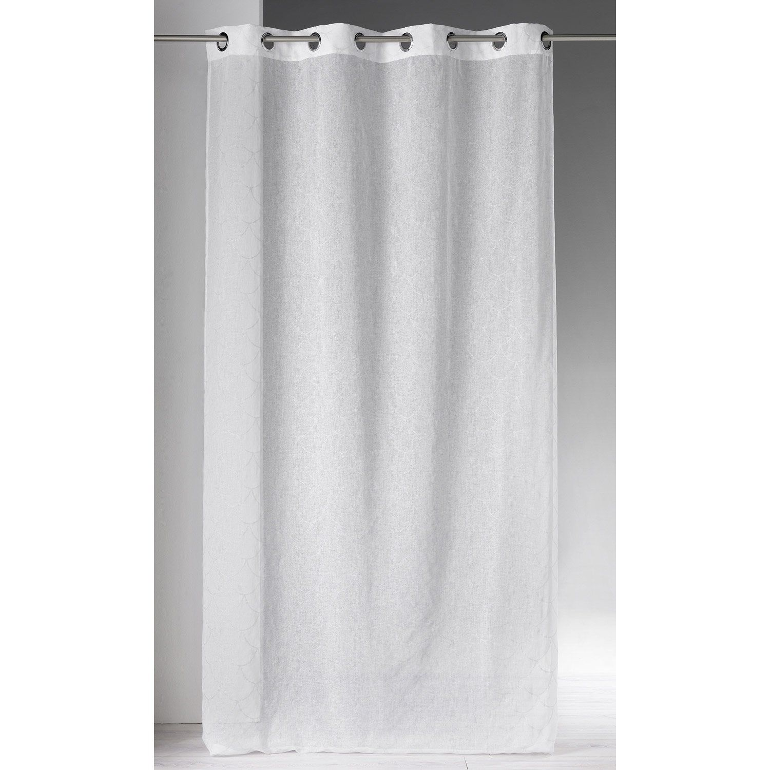 Voilage Tamisant Pesca Blanc L140 X H240 Cm Products