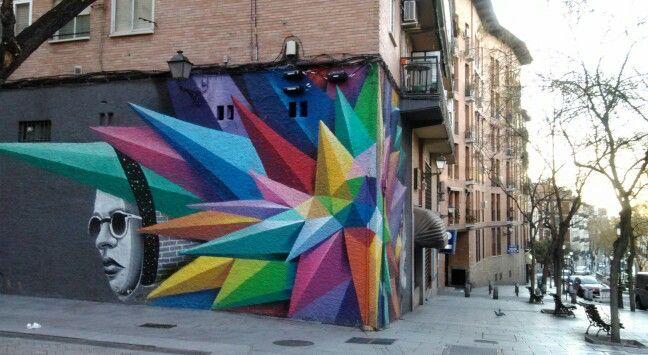 Street Art - Madrid, Spain