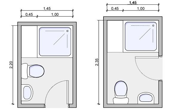 Tiny Bathroom Layout - Google Search