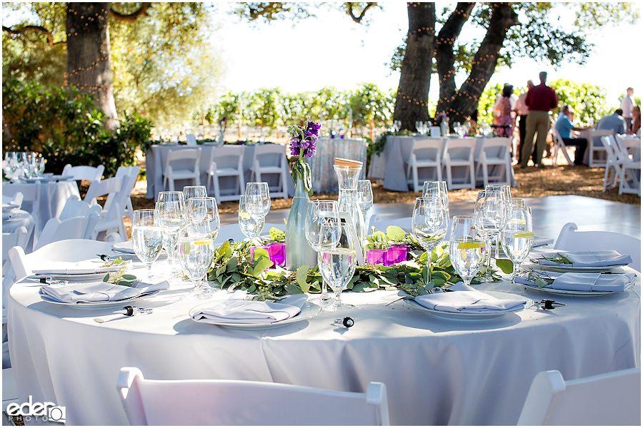 Vineyard Wedding Reception Details Sonoma Wedding Ideas Vineyard