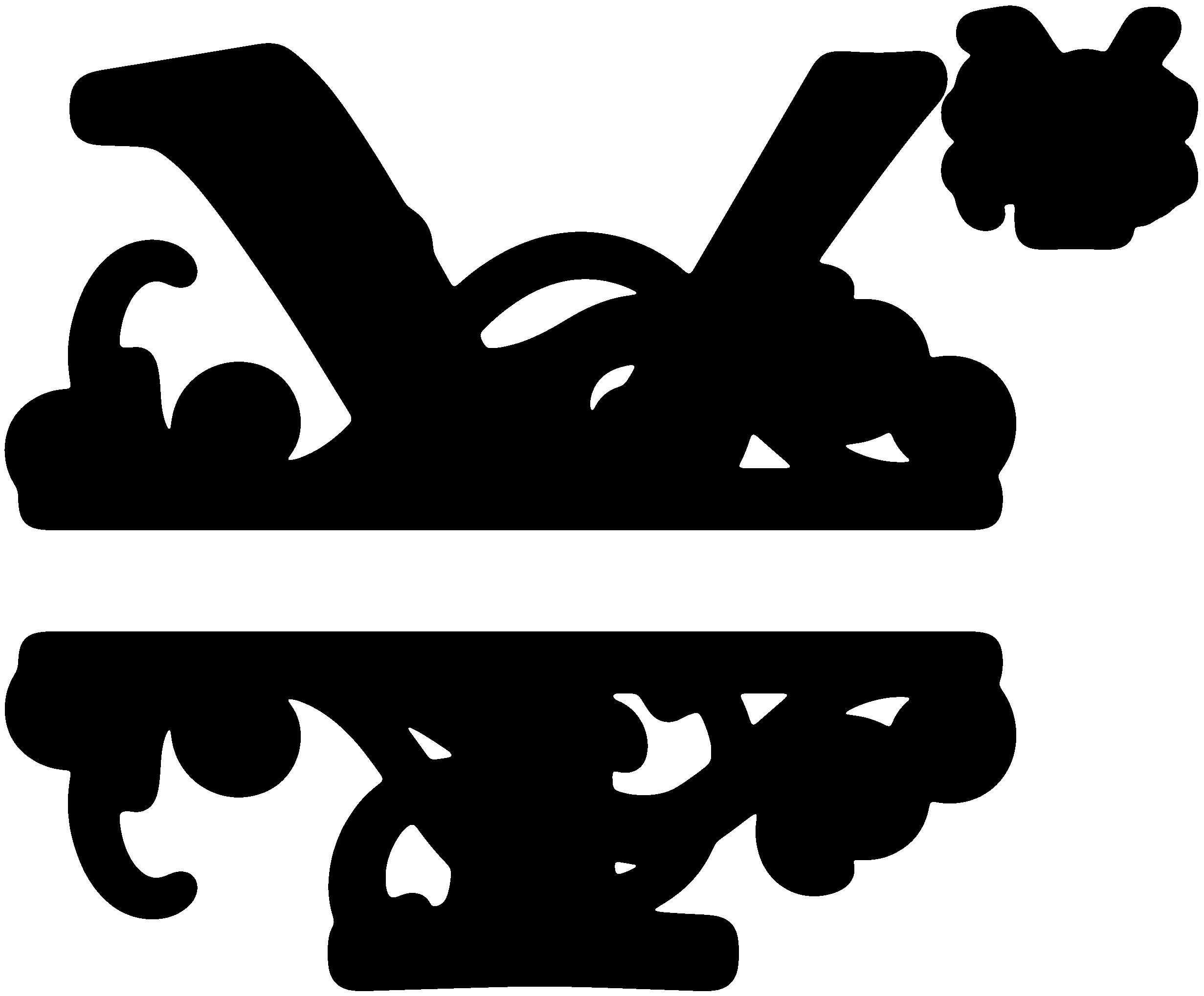 Y Split Monogram