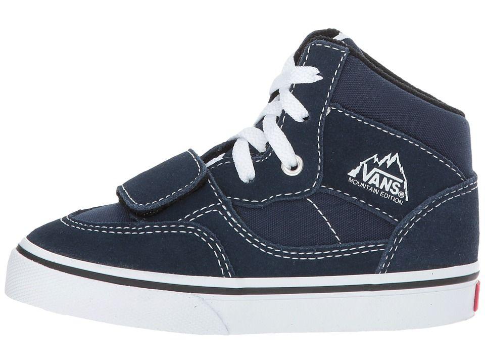 8eedea21af Vans Kids Mountain Edition (Toddler) Boys Shoes (Canvas   Suede) Dress Blues