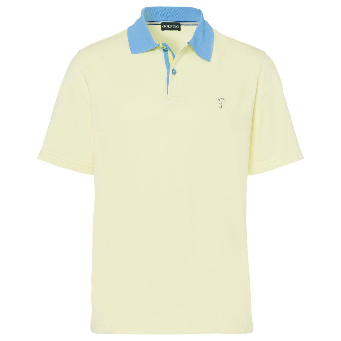61ec48d9 Men's contrast collar polo #golfino #golfwear #golfclothing #golfbekleidung  #golf #fashion #2018 #men