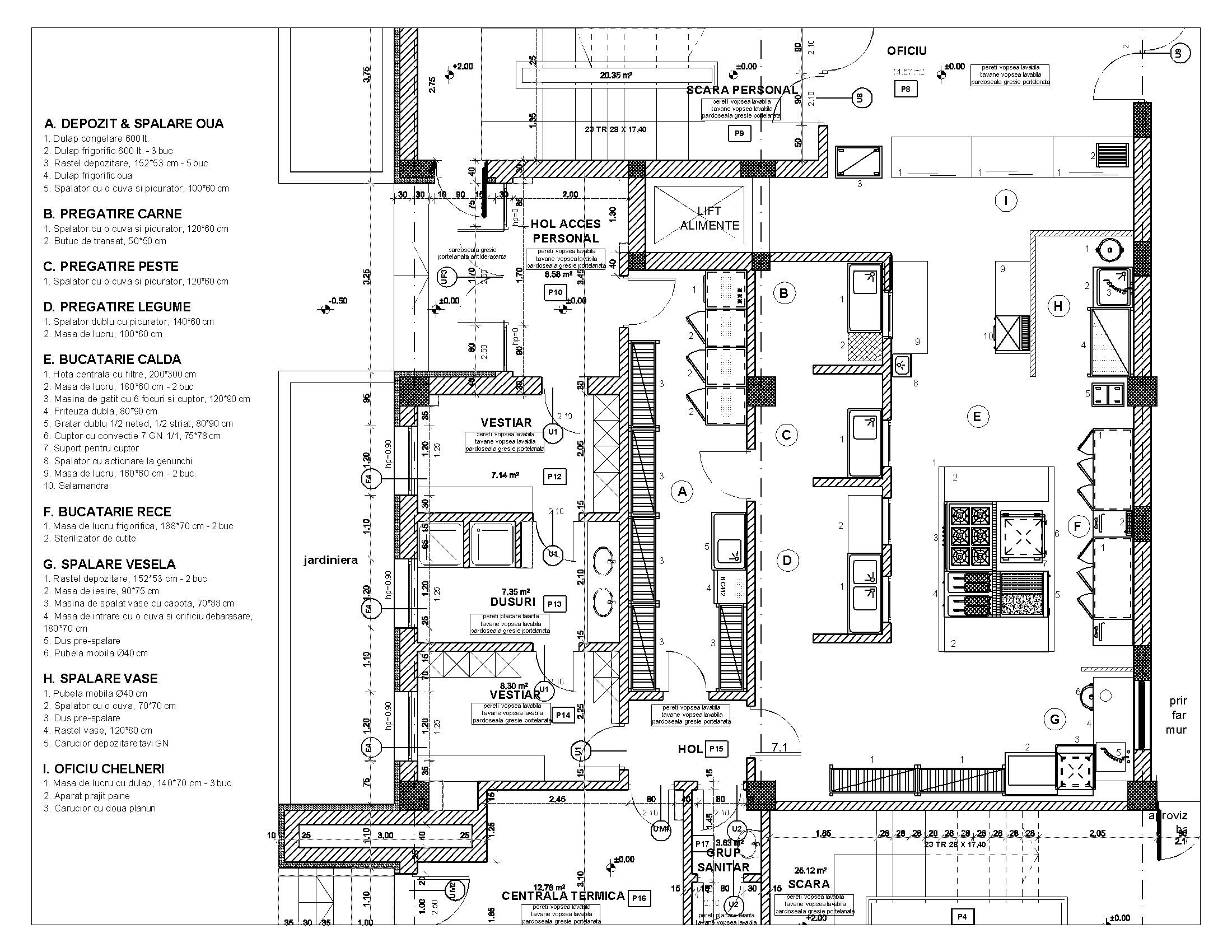 Restaurant Schematic