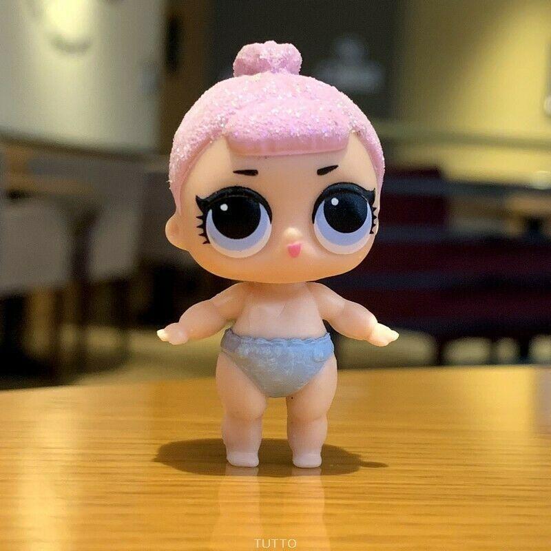 Lil Bon Bon Lol Surprise dolls Series 2 Lil Sister with a bag COLOR CHANGE sd