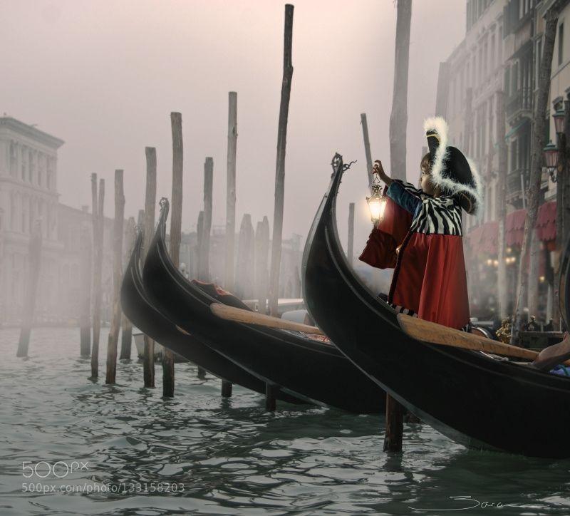 Nebbia a Venezia by manuelbarca. @go4fotos