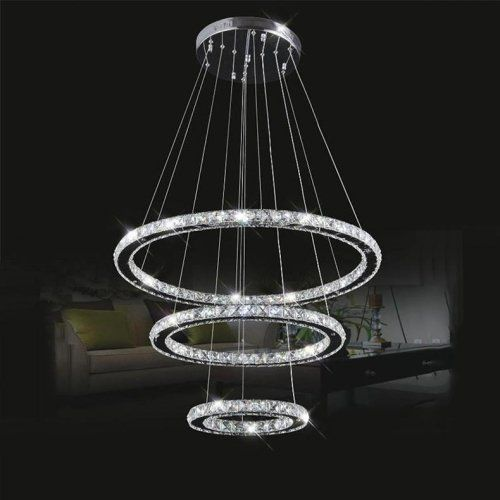 LightInTheBox LED K9 Crystal Chandelier Lighting Lamps Transparent ...