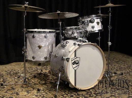 Dw Classics Series Drum Set 22 12 16 Classic White Marine Drums Drum Set Dw Drums