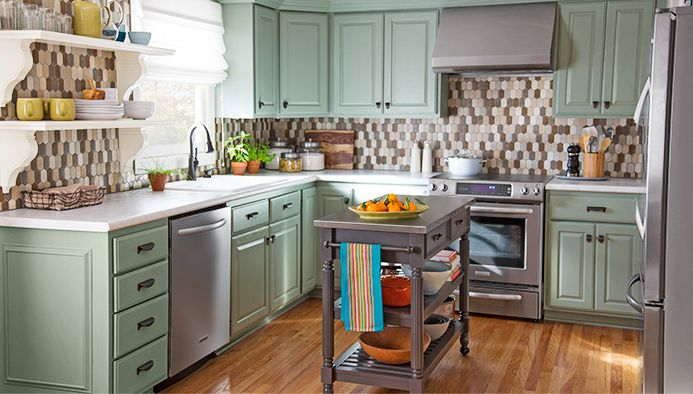See How You Can Transform An Outdated Kitchen For Just