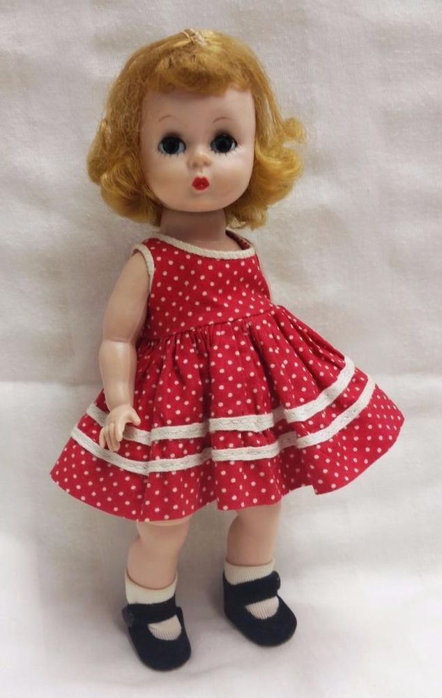 S Blonde Alexander Kin Bkw Dressed In Tagged Play Dress Sox Side Snaps Dollswithclothingaccessories