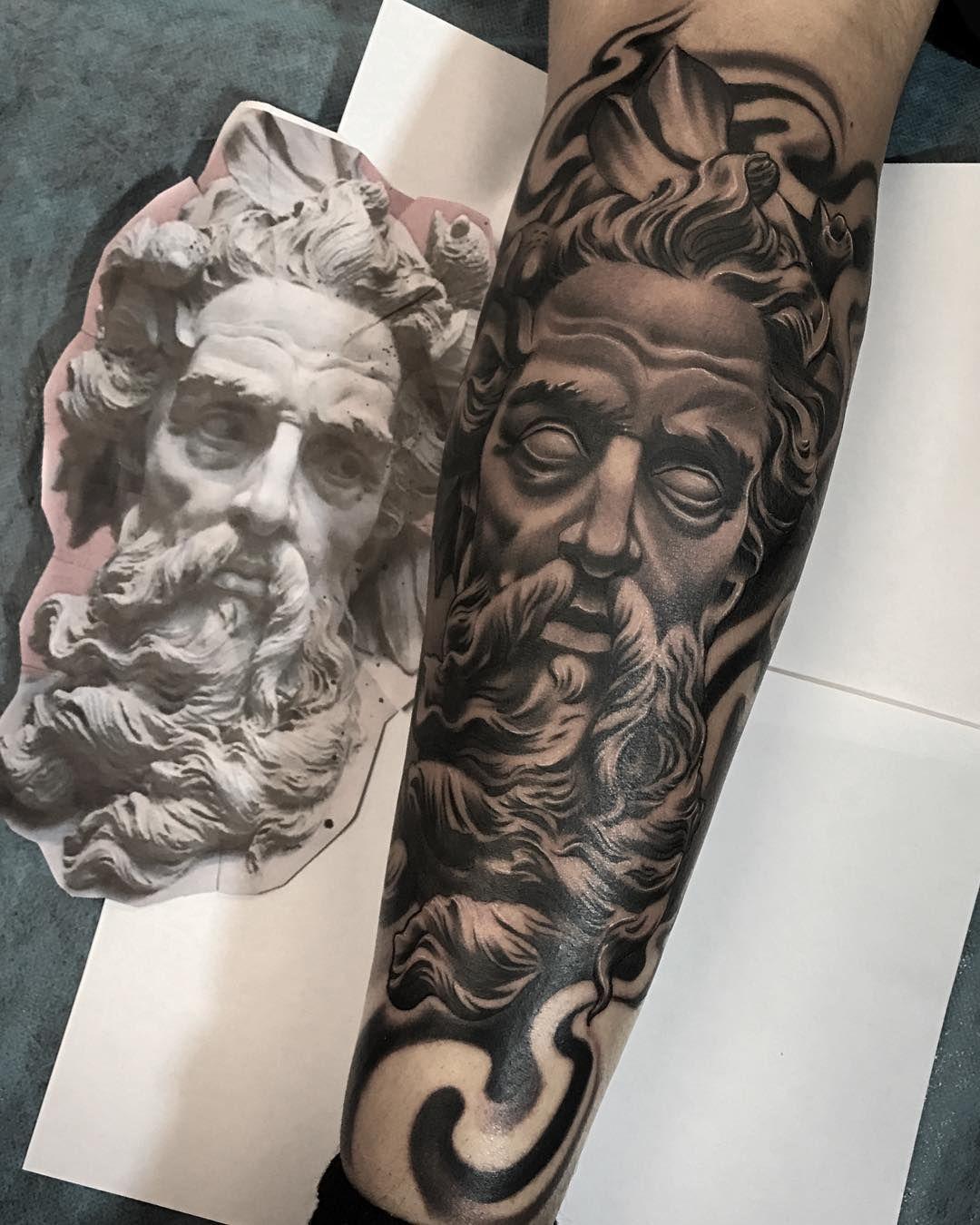 Puro Envisions Tc Tatuagem Grega Tatuagens Gregas Tatuagem Zeus