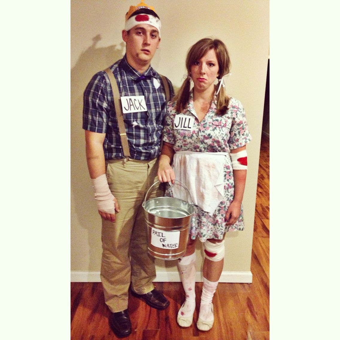 jack and jill costume cool pinterest costumes halloween costumes and halloween 2017. Black Bedroom Furniture Sets. Home Design Ideas