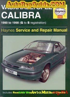 Download Free Opel Vauxhall Calibra 1990 1998 Repair Manual
