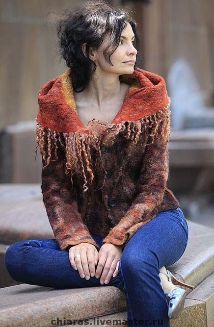 """Верхняя одежда ручной работы. Ярмарка Мастеров - ручная работа Курточка ручной работы """"ловушка для лис"""". Handmade."""
