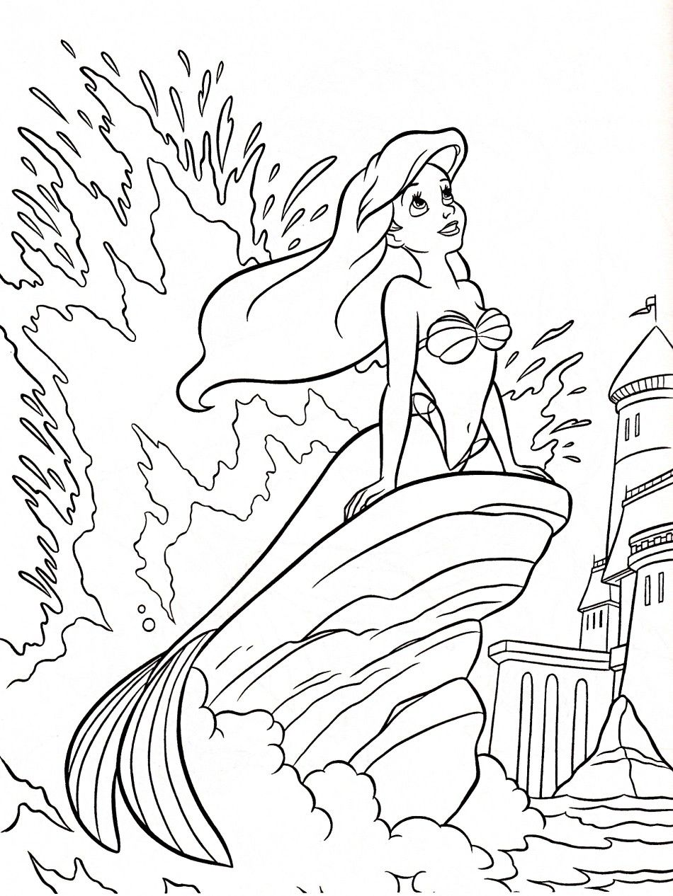 Pin By Christina Proud On Kids Coloring Pages Ariel Coloring Pages Disney Princess Coloring Pages Princess Coloring Pages
