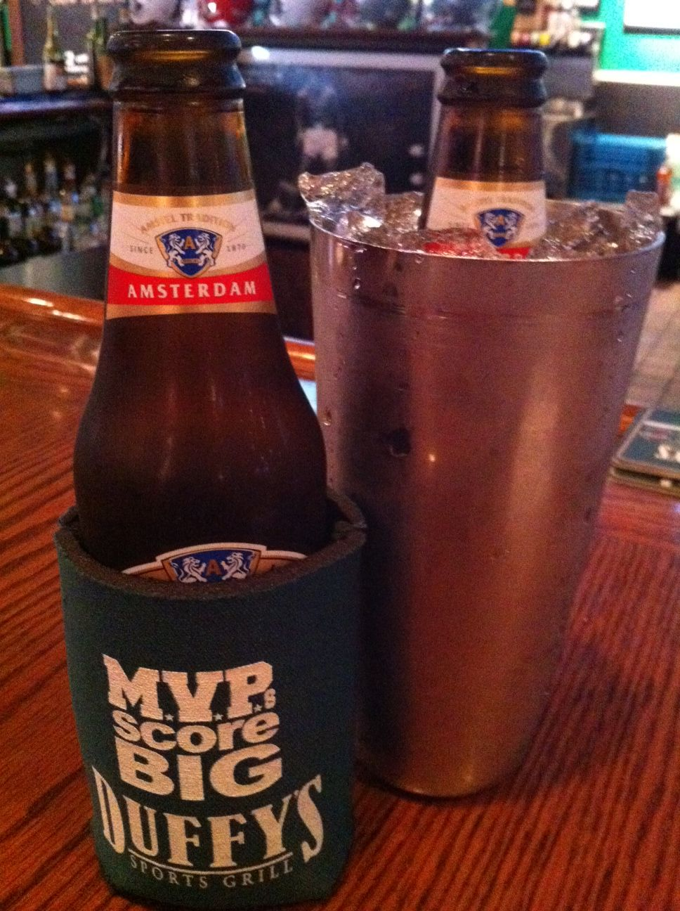 Enjoying 241s at Duffy's Sports Bar in Jupiter. http