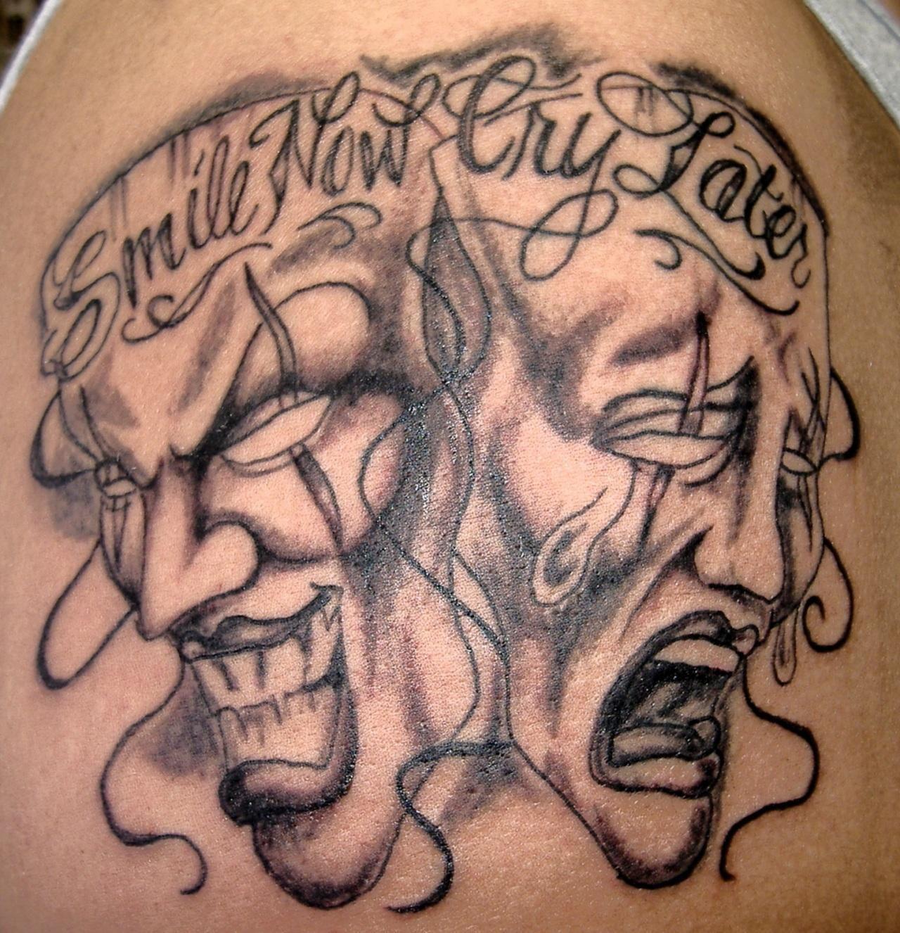 Tatuaje chicano tatto oldies pinterest tatto for Smile more tattoo